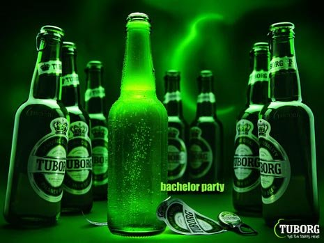 Tuborg commercial - Funny beer ads: Tuborg bachelor party