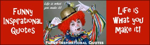 Funny inspirational quotes - funny clown picture
