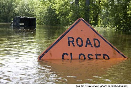 Hilarious funny road signs and funny street signs: Road Closed!