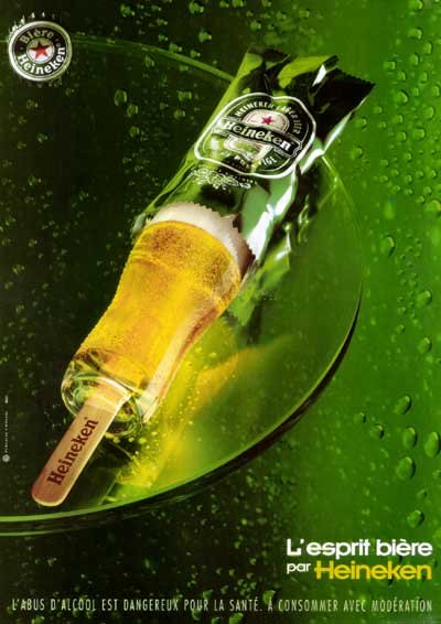 Heineken commercial - Heineken ice cream - great beer ads