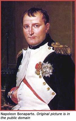 Inspirational quotes on the spirit by Napoleon Bonaparte.