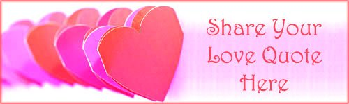 Love Quote: picture of red and pink paper hearts!