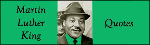 Martin Luther King Jr. Quotes: Martin Luther King with hat and tie.