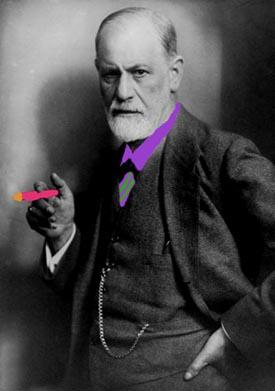 Funny Sigmund Freud.