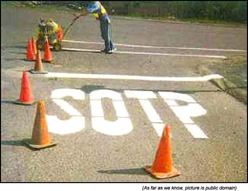 Funny road signs STOP (or not)