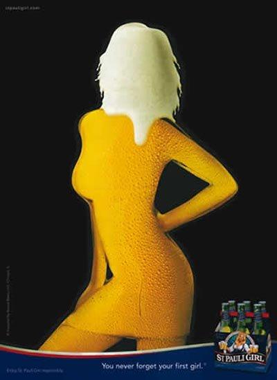 St. Pauli Girl beer commercial