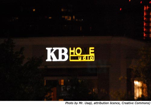 Hilarious silly signs: Funny neon signs: KB Hoe Udio (KB Home Studios)