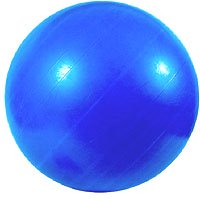 Unusual gifts for men: Exercise ball: Picture of blue exercise ball.