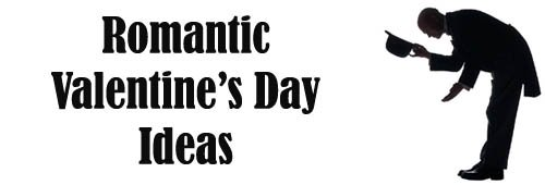 Romantic Valentines Day ideas: Man in tux in silhouette bowing and lifting his hat.