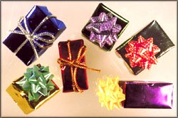 Creative ideas: lots of small presents.